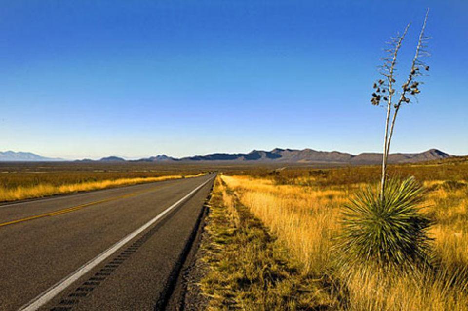 Schiebepuzzle: Nr. 107: Interstate 10 in Arizona