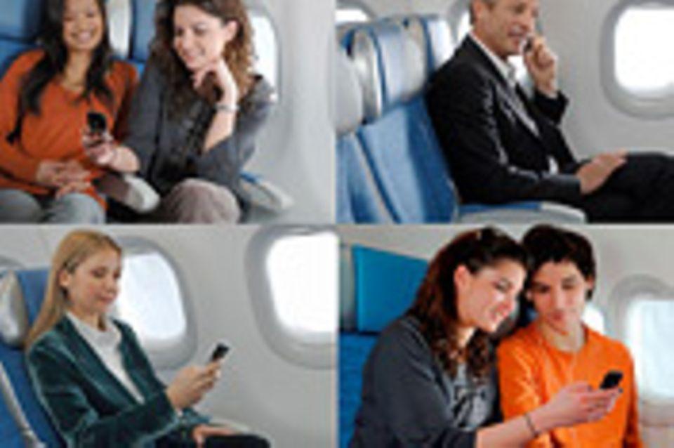 Flugreise: Handy-Gespräche erlaubt