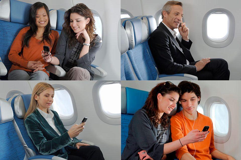 Eine typische Szene aus dem Flugzeug? Vielleicht bald.