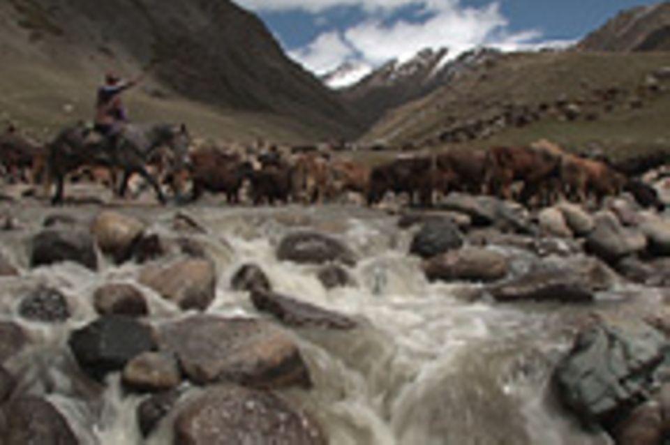 Die neuen Nomaden von Kirgisistan