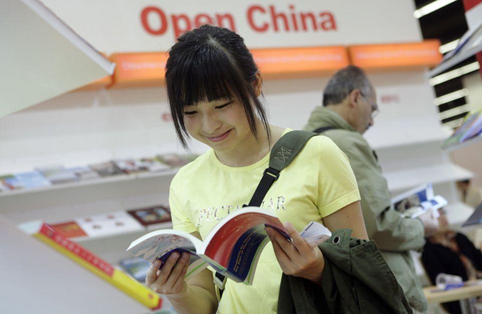 Chinesische Literatur stand im Mittelpunkt der diesjährigen Frankfurter Buchmesse