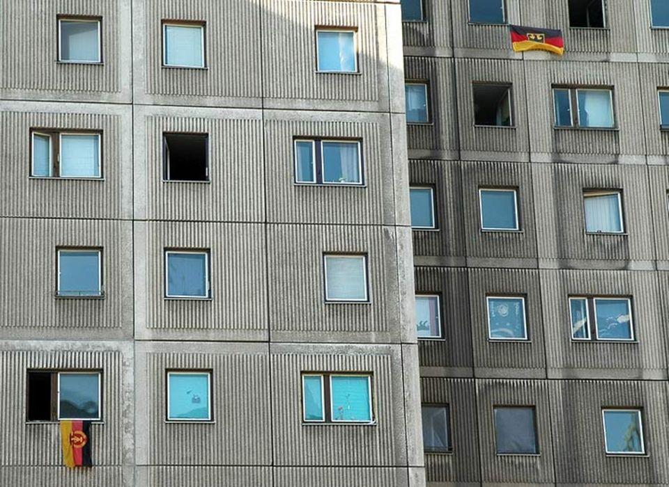 Plattenbauten: Allgegenwärtig in der DDR