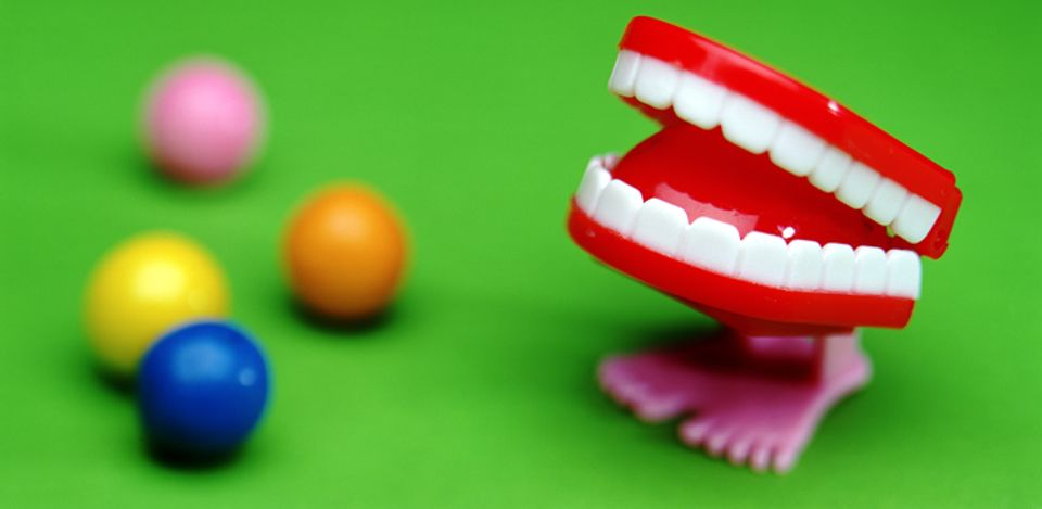 Einen Zahn zulegen