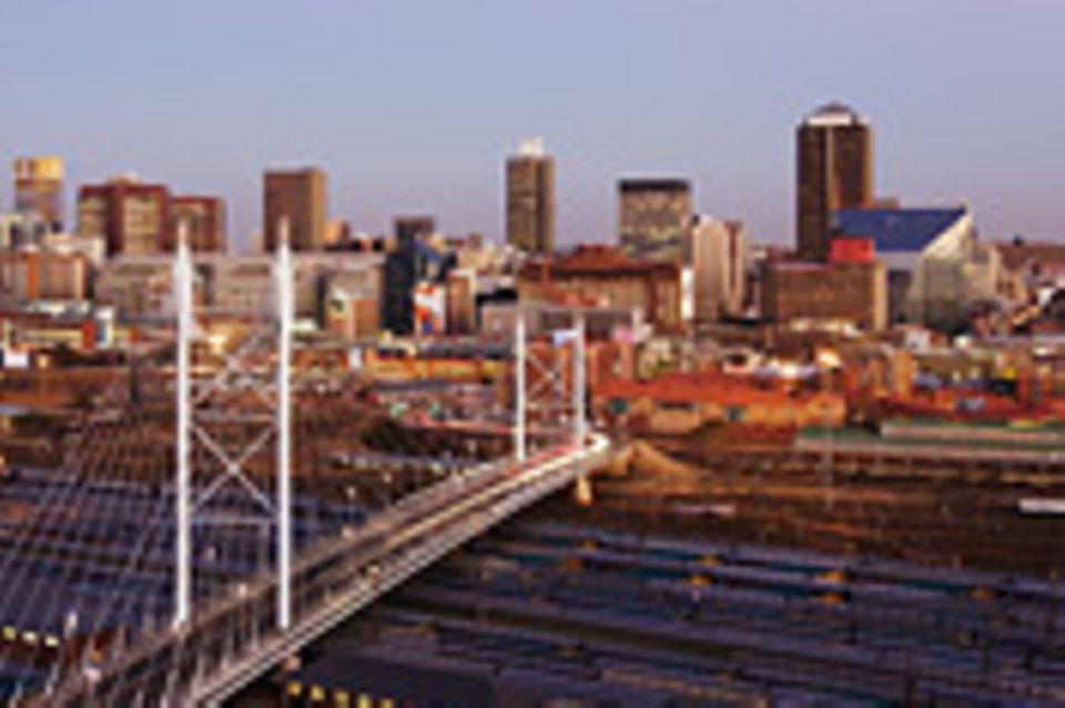 Johannesburg in neuem Rhythmus