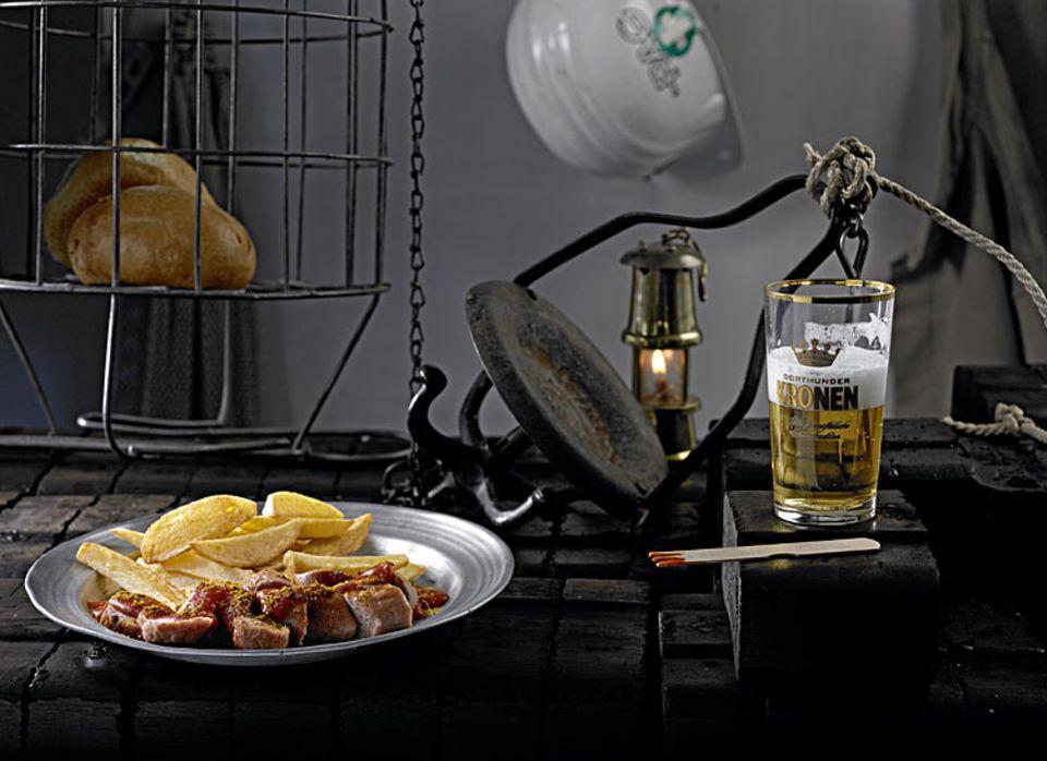GerichtsTermin: Currywurst: Pommes mit Currywurst