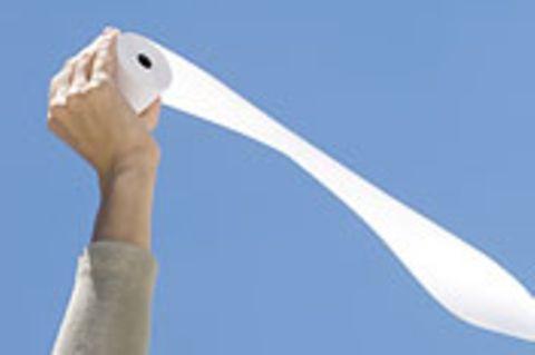 Das Grüne Gewissen: Umweltsünde Toilettenpapier?