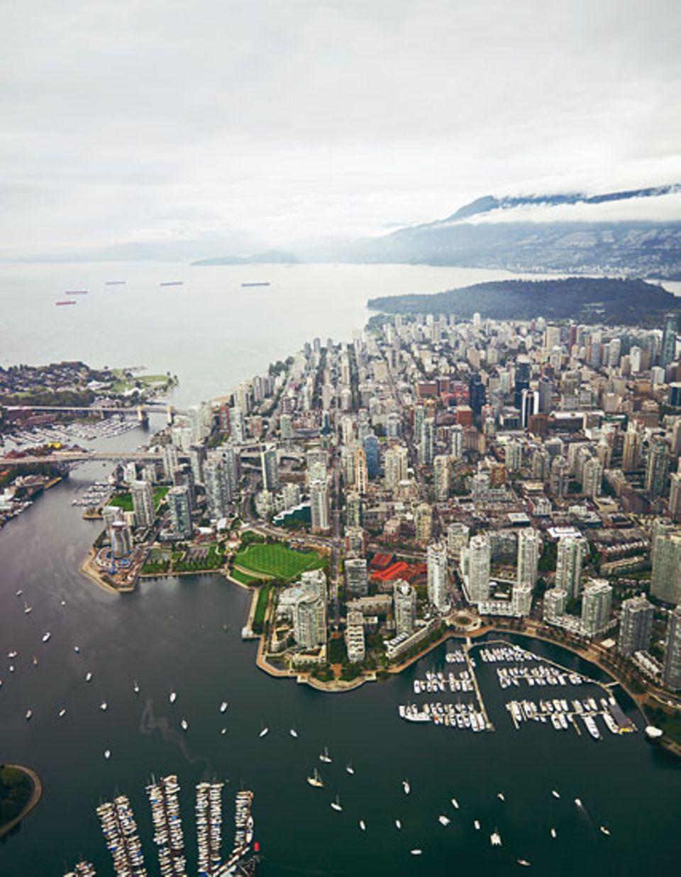 Vancouver: Weltstadt zwischen Bergen, Inseln, Wald und Meer