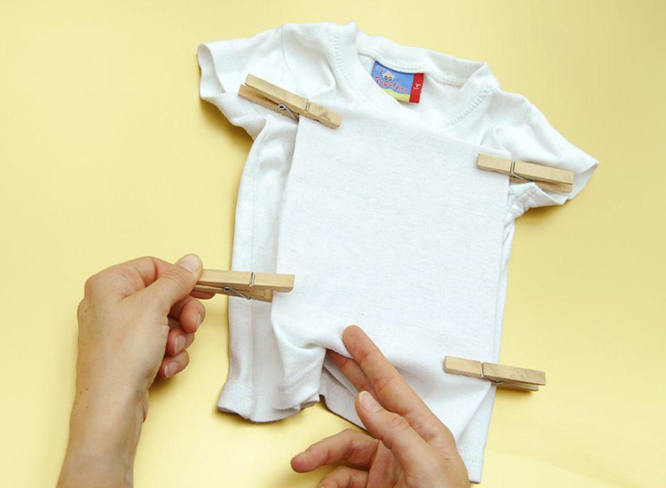 Basteltipp: T-Shirts bedrucken