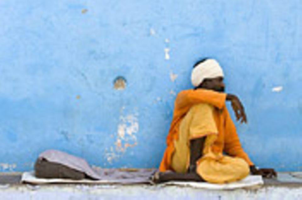 Schiebepuzzle: Nr. 180: Inder in Pushkar