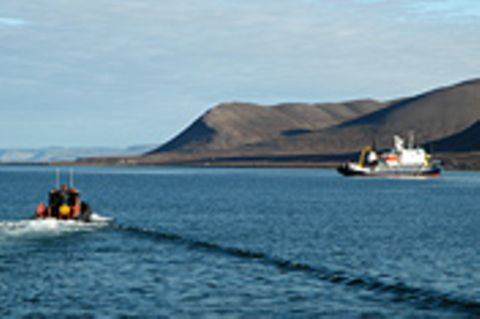 Spitzbergen, eisige Insel