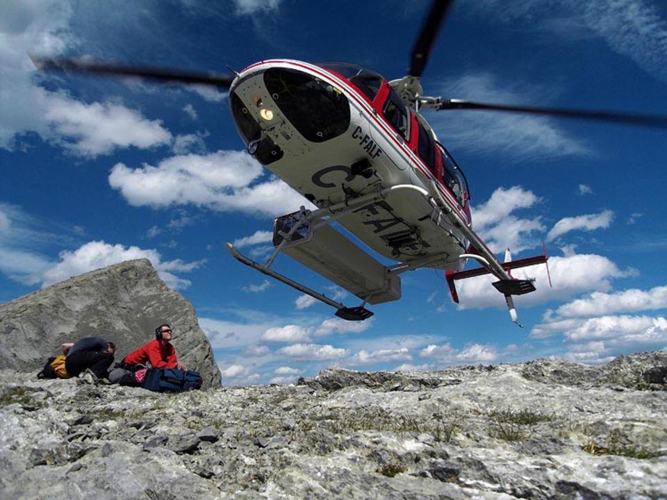 SOS in den Rocky Mountains