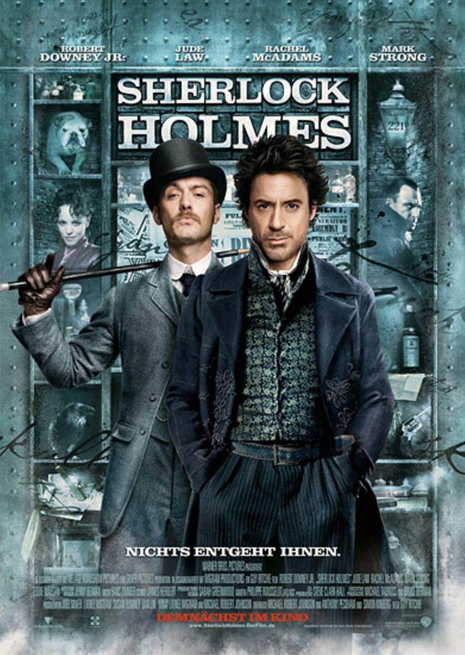 Kinotipp: Sherlock Holmes: Das offizielle Filmplakat
