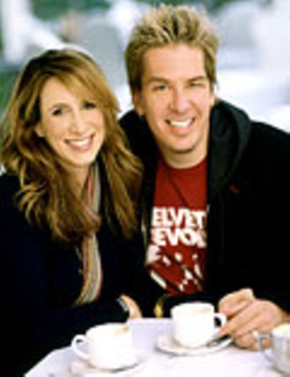"""Liz Tuccillo und Greg Behrendt sind Auto- ren der erfolgreichen Fernsehserie """"Sex and the City"""""""