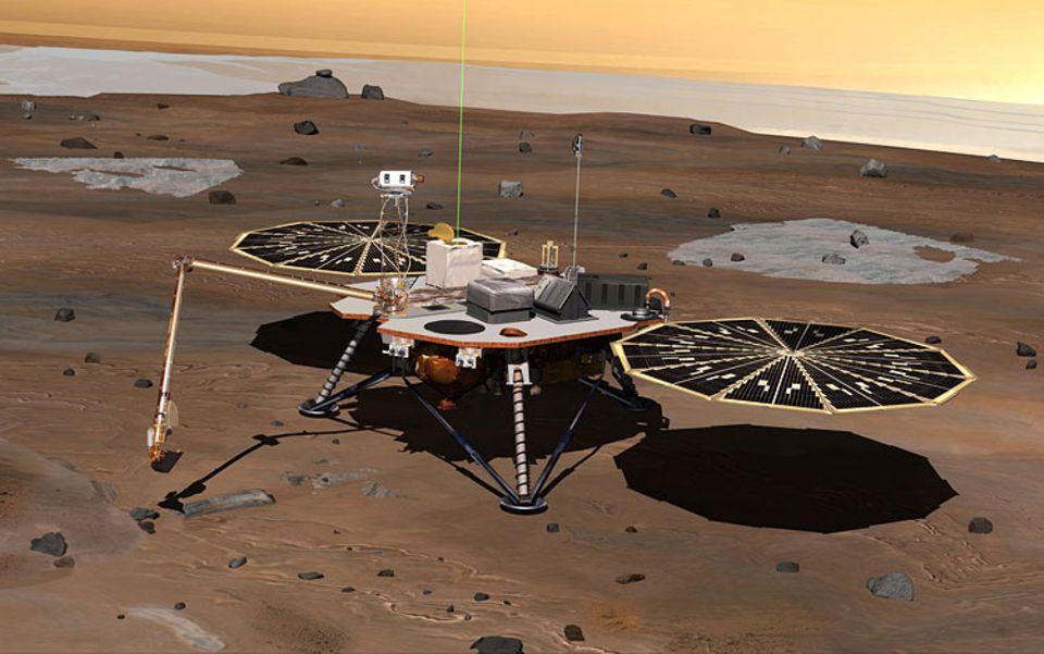 Forschung: Die Mars-Sonde Phoenix