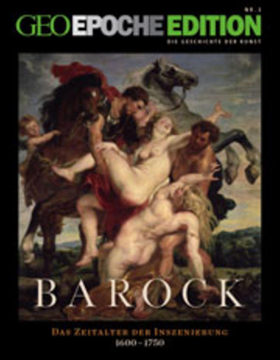 """GEOEPOCHE EDITION """"Barock"""" hat 132 Seiten im Großformat und kostet voraussichtlich 15,90 Euro"""