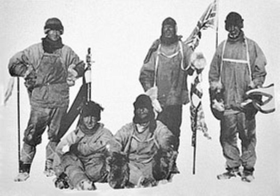 Abenteuer Expedition: Die Abenteurer um Robert Scott erreichen am 18. Januar 1912 den Südpol - einen Monat nach Amundsen. Alle fünf verhungern oder erfrieren auf dem Rückweg