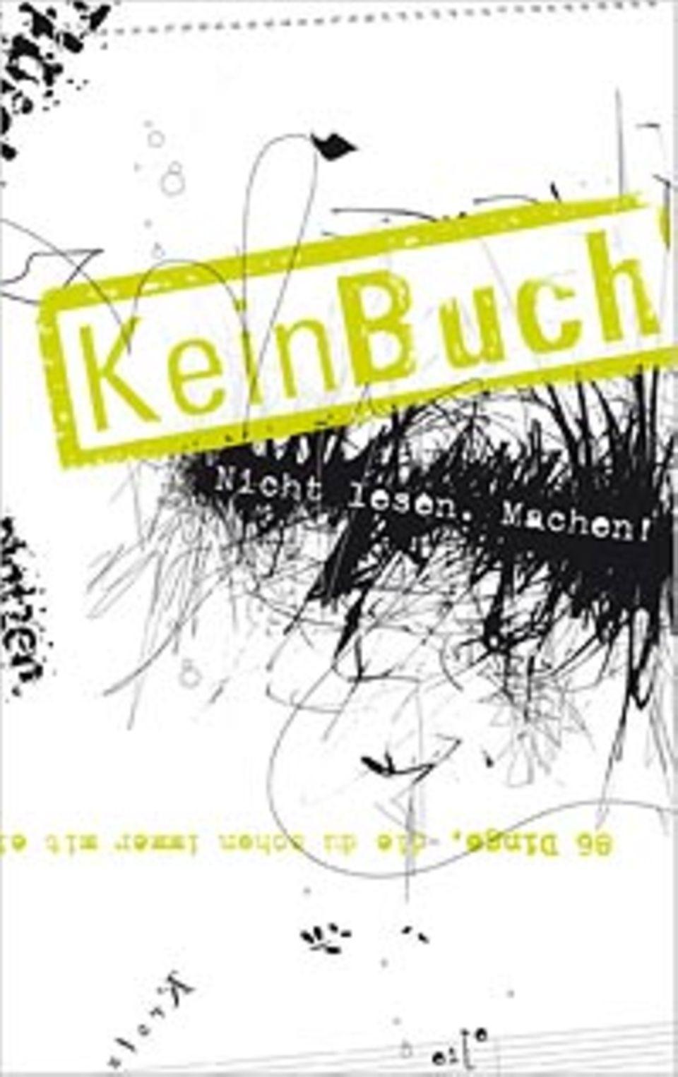 """Buchcover von """"KeinBuch"""""""