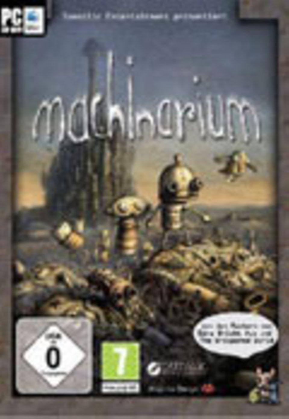 """Spieletest: """"Machinarium"""""""