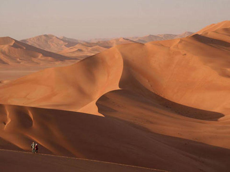 Schiebepuzzle: Nr. 212: Dünen im Oman