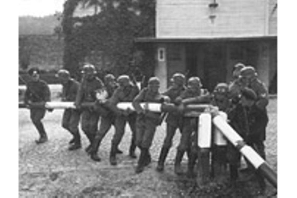 Kriegsbeginn: Der erste Schuss