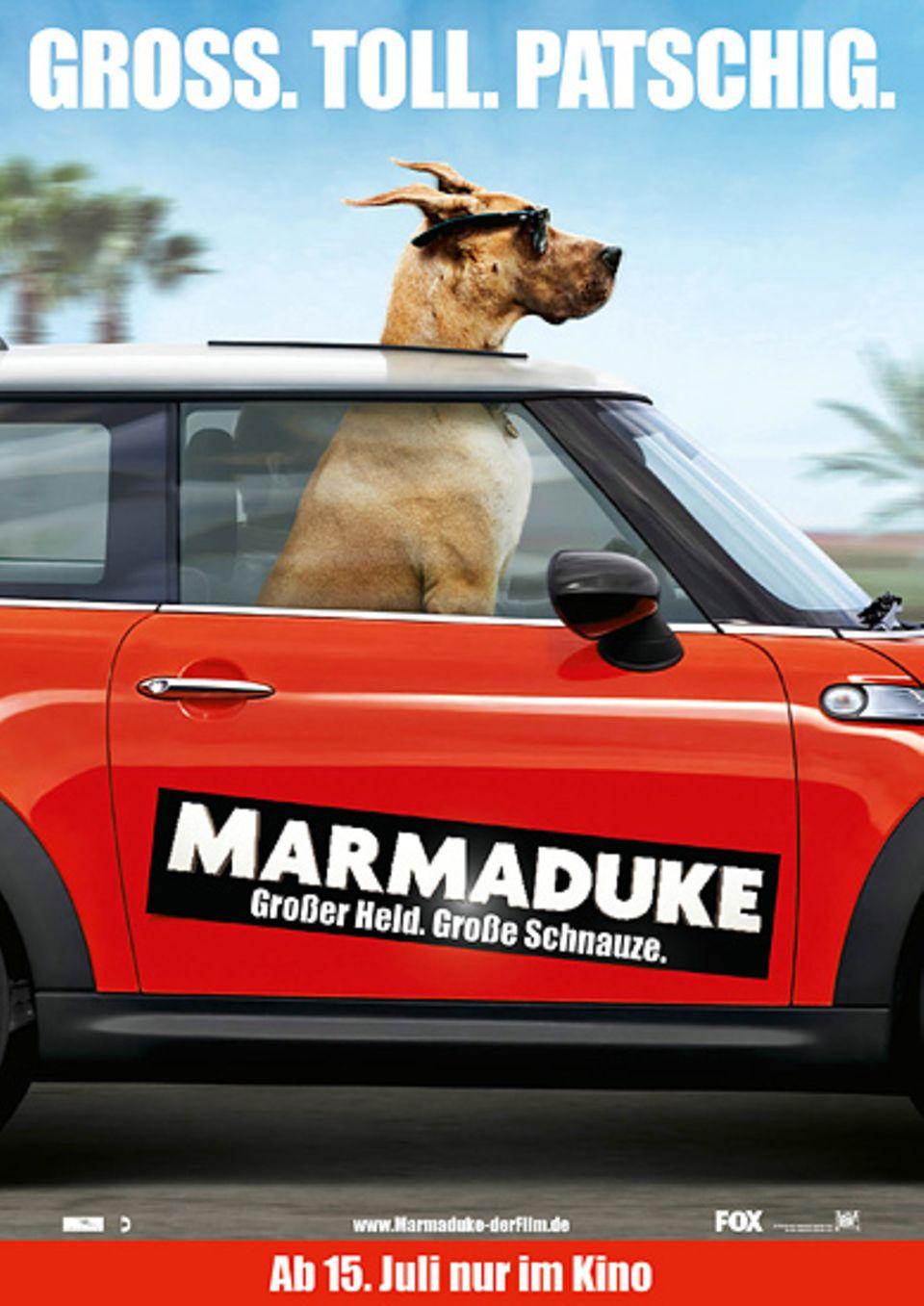 """Das offizielle Filmplakat zu """"Marmaduke"""""""