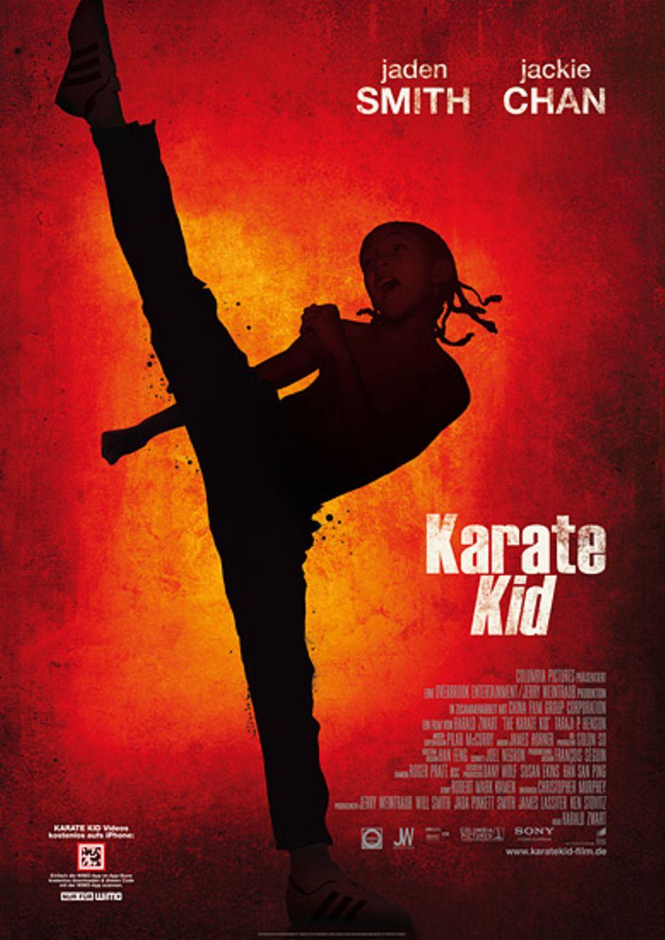 "Das offizielle Filmplakat zu ""Karate Kid"""