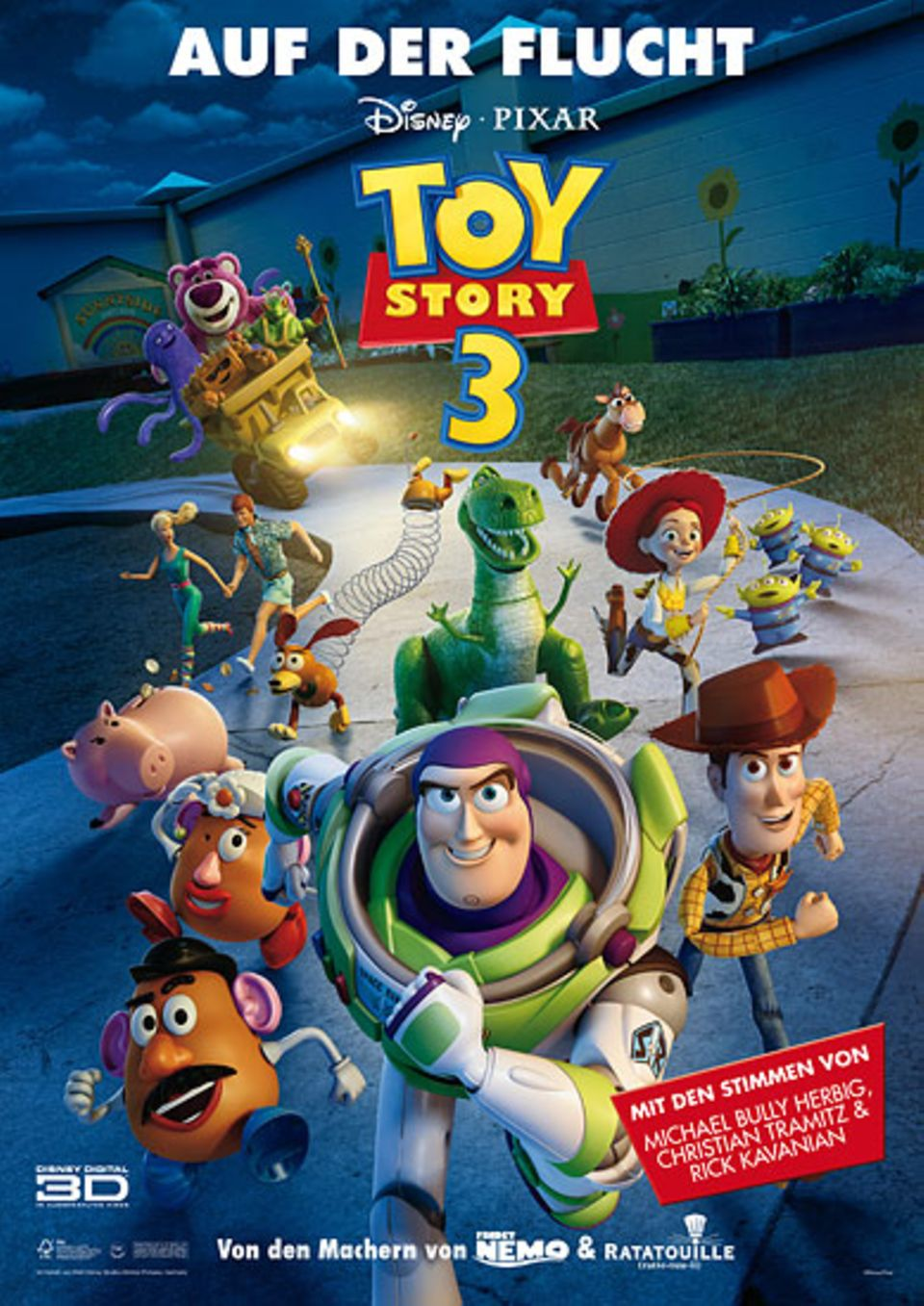 "Das offizielle Filmplakat zu ""Toy Story 3"""