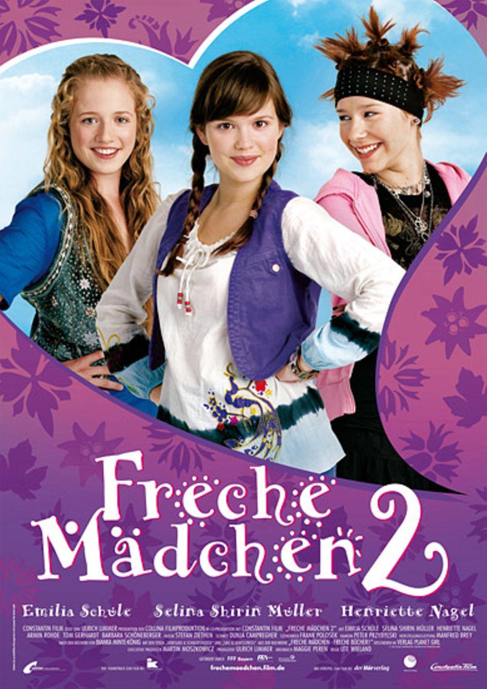 """Das offizielle Filmplakat zu """"Freche Mädchen 2"""""""