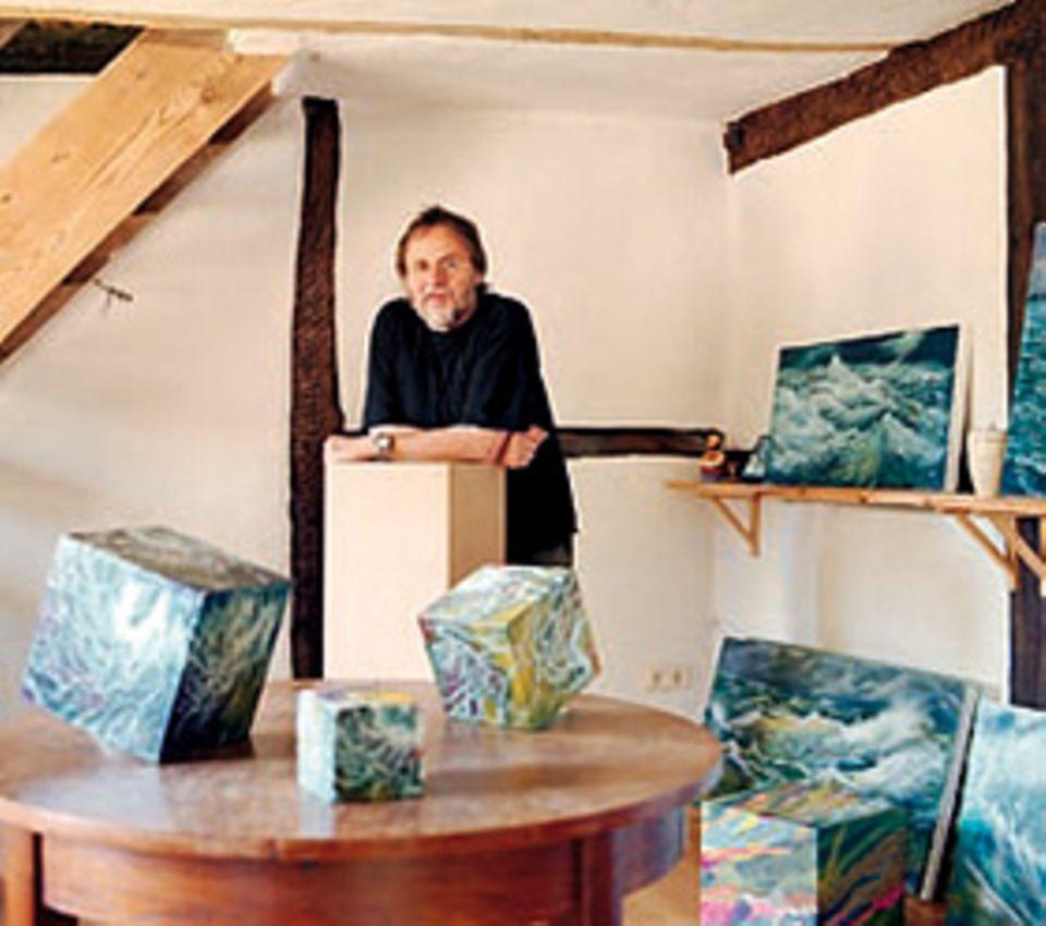 Kunstscheune Karow: Früher Rauchhaus heute Atelier