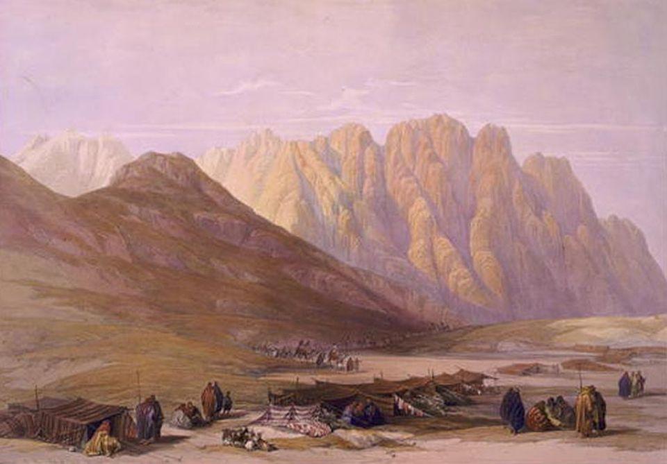 Ab 1200 v. Chr. erschaffen Nomaden und Flüchtlinge im alten Palästina ein Königreich und einen Staatskult.
