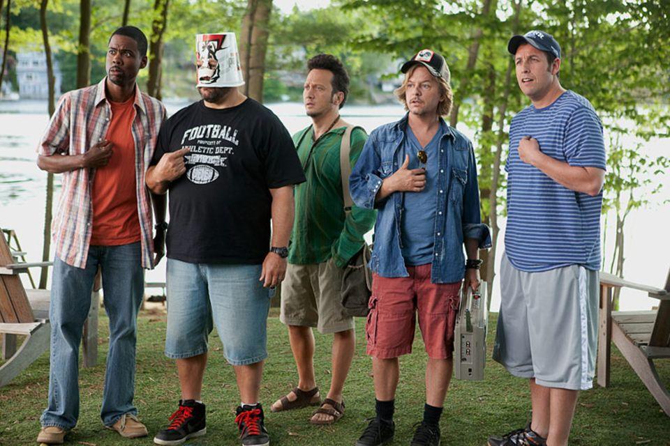 Die Kindsköpfe Kurt, Eric, Rob, Marcus und Lenny (v.l.)
