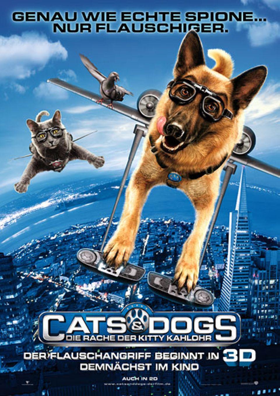 Kinotipp: Cats & Dogs 2 – Die Rache der Kitty Kahlohr