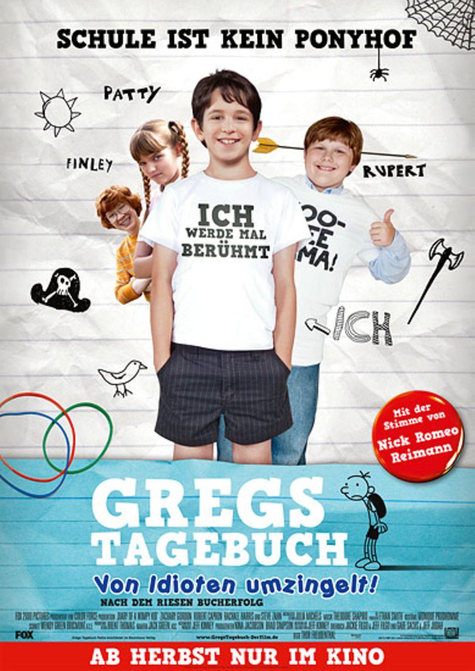 """""""Gregs Tagebuch – Von Idioten umzingelt"""" – ab 16. September im Kino"""