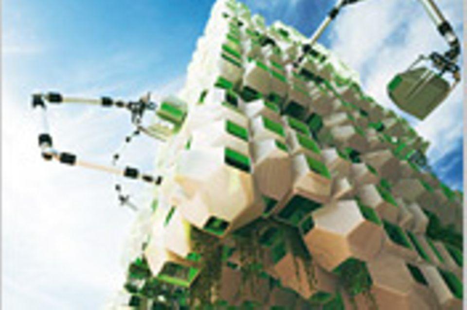 Architektur: Wärmendes Grün