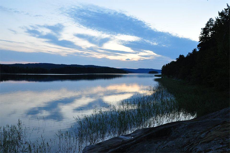 Idyllisch und ruhig: Die Seenlandschaft im schwedischen Glaskogen