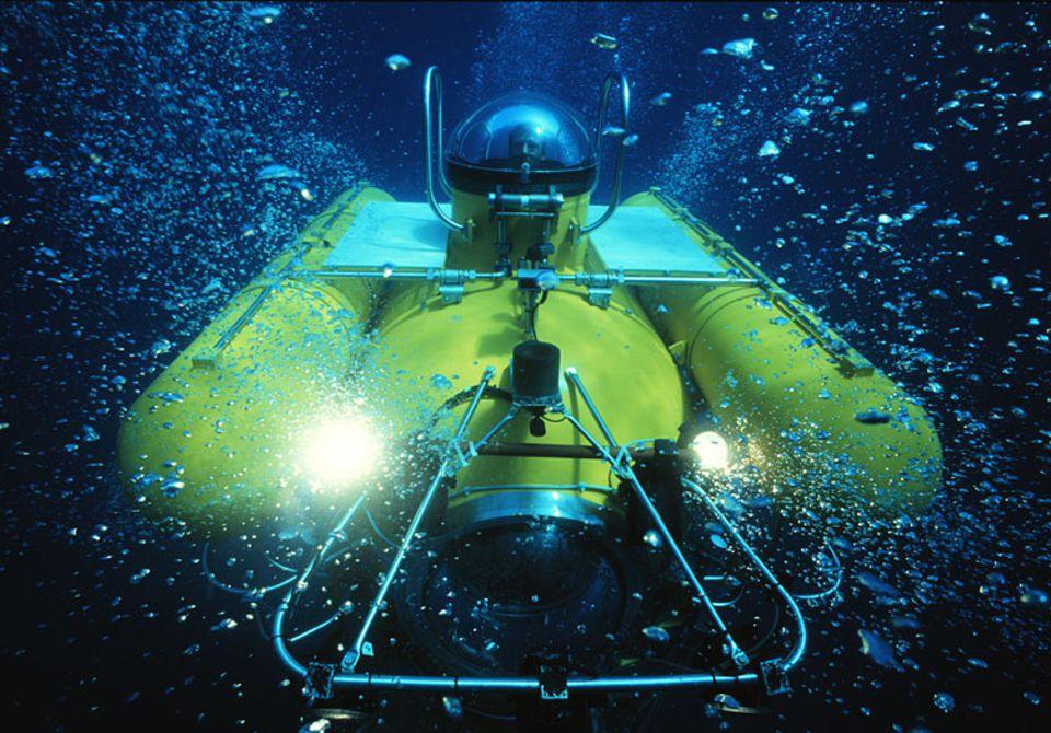 Das Tauchboot des Kieler Instituts für Meereswissenschaften