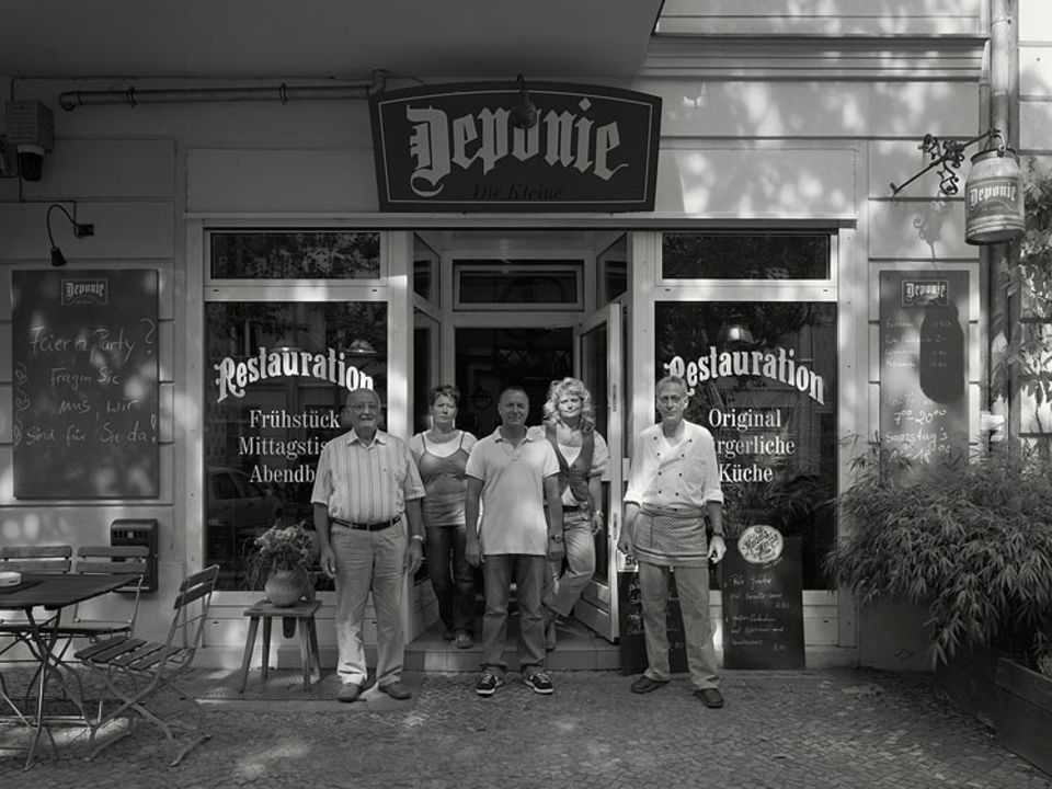 Gaststätte Deponie, Hufelandstraße 31