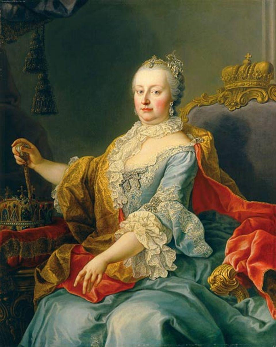 Maria Theresia - Jahrzehntelang behauptet sich die Kaiserin gegen eine Männerwelt voller Feinde