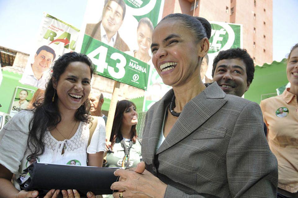 Naturschutz: Nicht aufzuhalten: Marina Silva, Kandidatin der brasilianischen Grünen