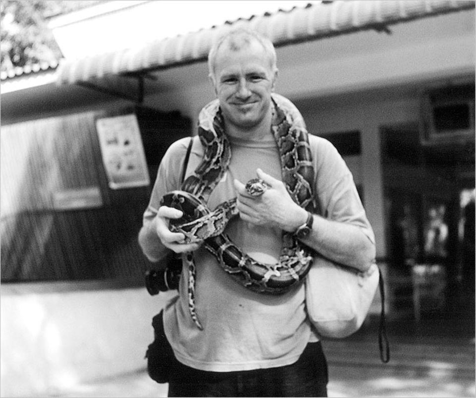 Tierhandel: Fotograf Patrick Brown