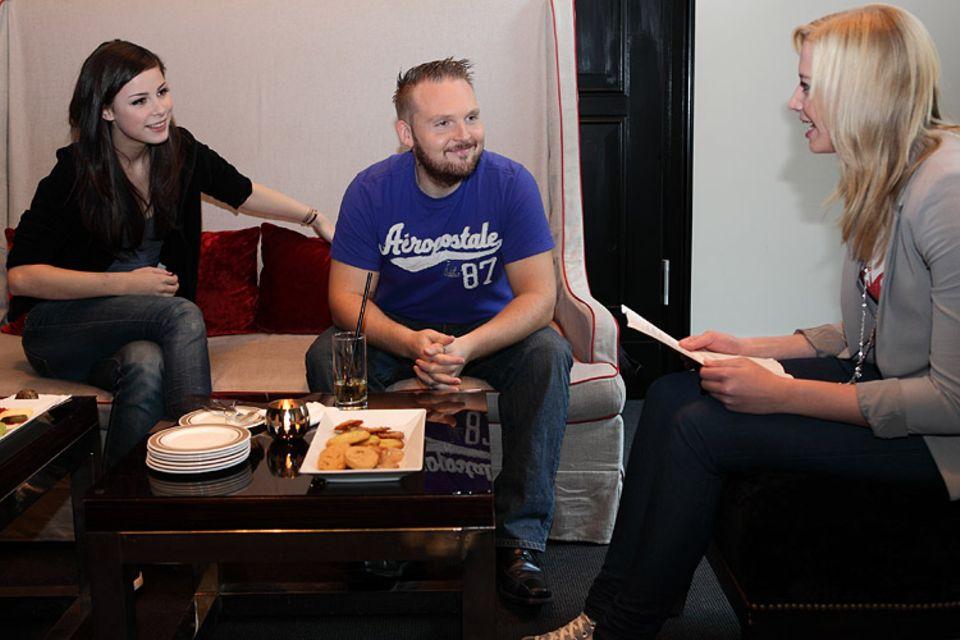 Kino: Tanja im Gespräch mit Lena und Axel Stein
