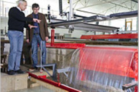 Wasserkraft: Niedriges Gefälle, hohes Potenzial