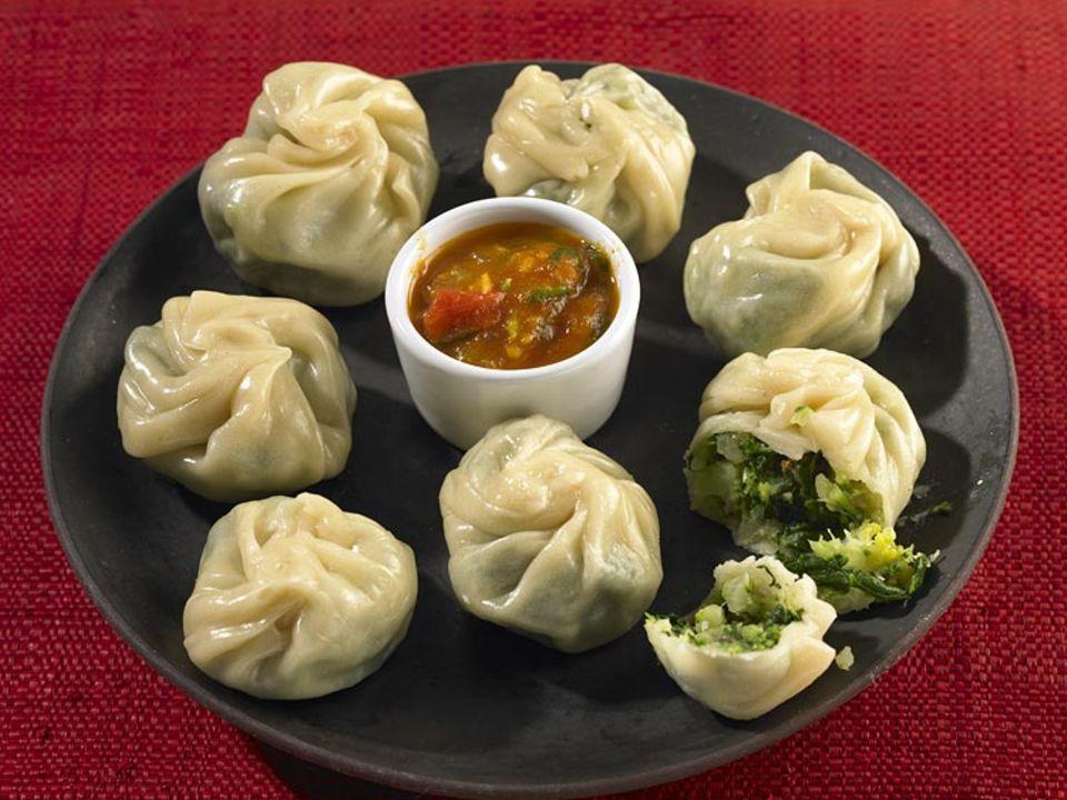 Rezept: Momos: Kulinarische Highlights im Himalaya: Momos