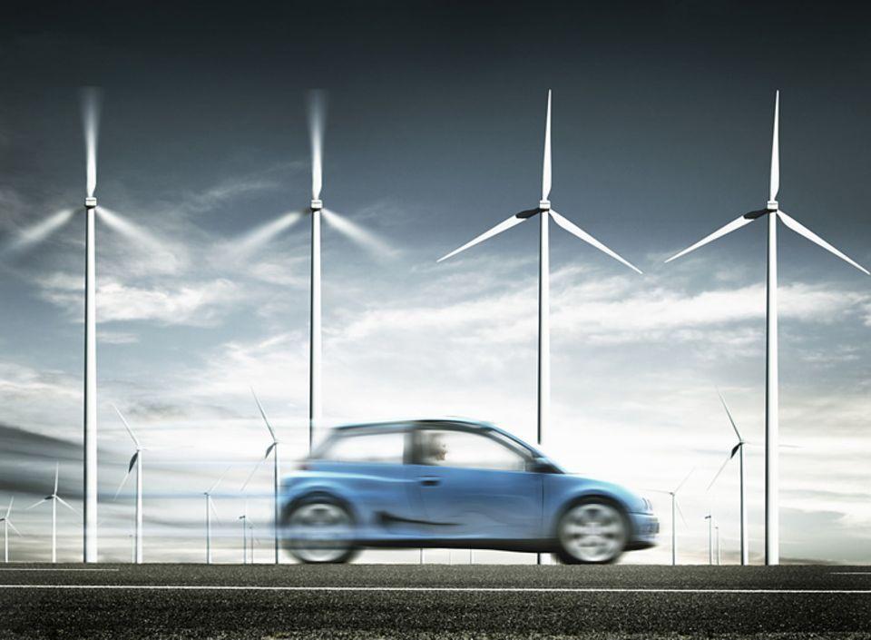Elektroauto und Windenergie: ein perfektes Team?