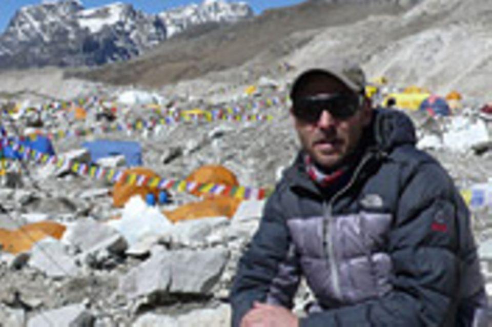 Video + Interview: Im Everest-Basislager: Video + Interview: Im Everest-Basislager