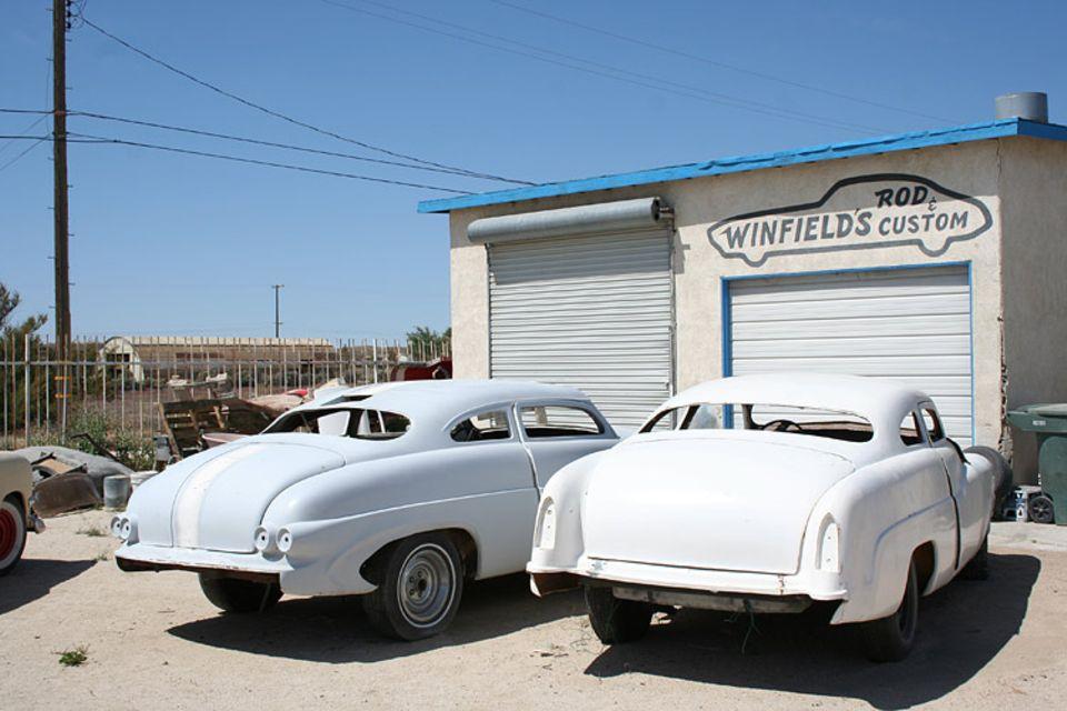 In der ganzen USA suchen Fans nach den Mercurie-Modellen der 50-er Jahre. Gene Winfield baut sie nach oder motzt sie auf