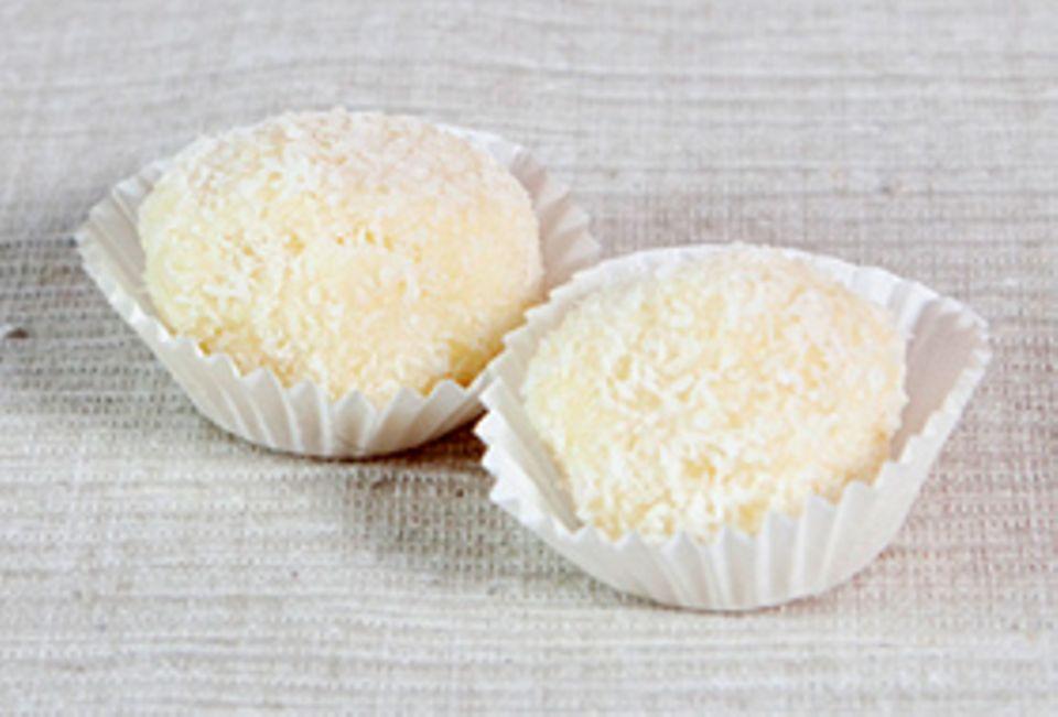 Rezept: Schneeball Pralinen