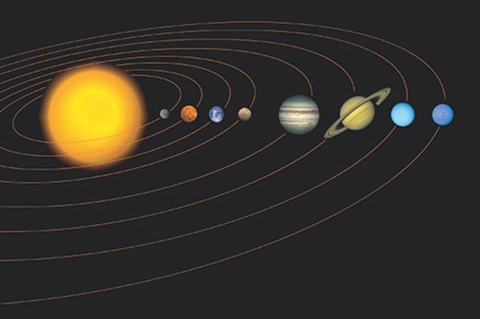 Astronomie: Unser Sonnensystem