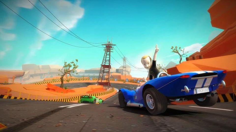 Spieletest: Autorennen ohne Lenkrad
