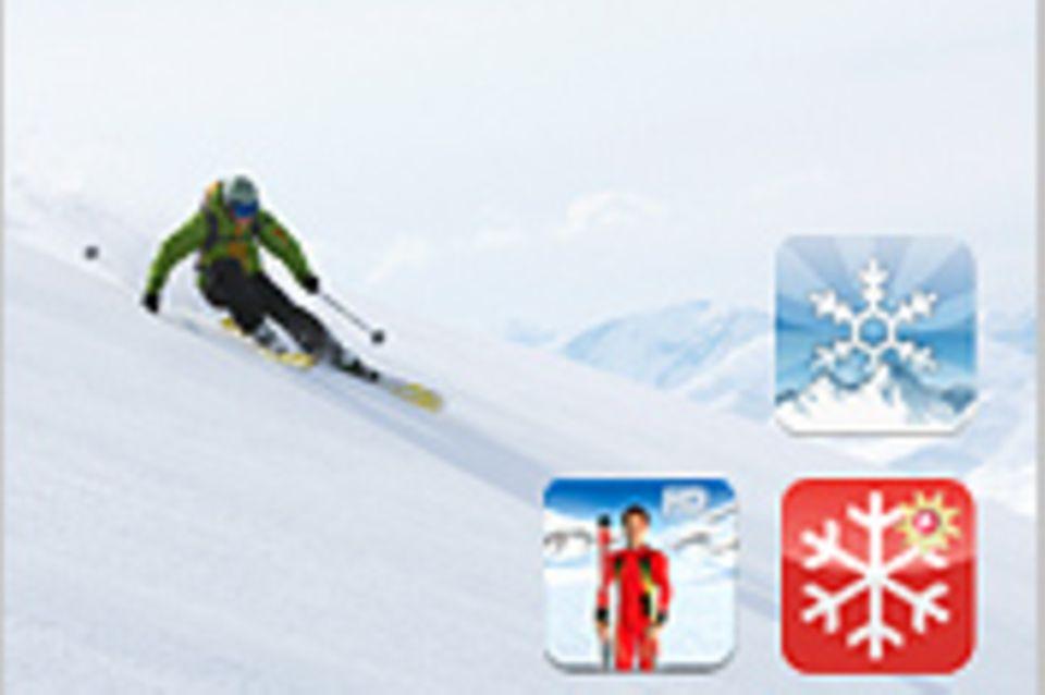 Die besten Apps für den Winter: Apps to snow